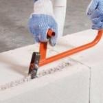 Штроборез  для газосиликатных блоков