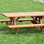 Делаем стол  для загородного дома