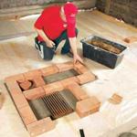 Инструменты для кладки печей и каминов