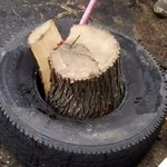 Методика колки дров