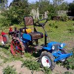 Мини трактор из мотоблока Нева