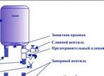Устанавливаем тройник для слива воды в бойлере