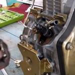 Установка момента впрыска топлива -  дизельного двигателя мотоблока