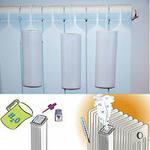 Изготавливаем увлажнитель воздуха на отопительной батарее