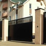Откатные и распашные ворота – их плюсы и минусы