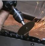 Как  заточить цепную пилу шлифовальной машинкой типа Dremel?