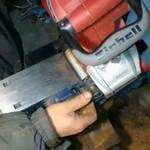 Как, заточить ножи электрорубанка не снимая?